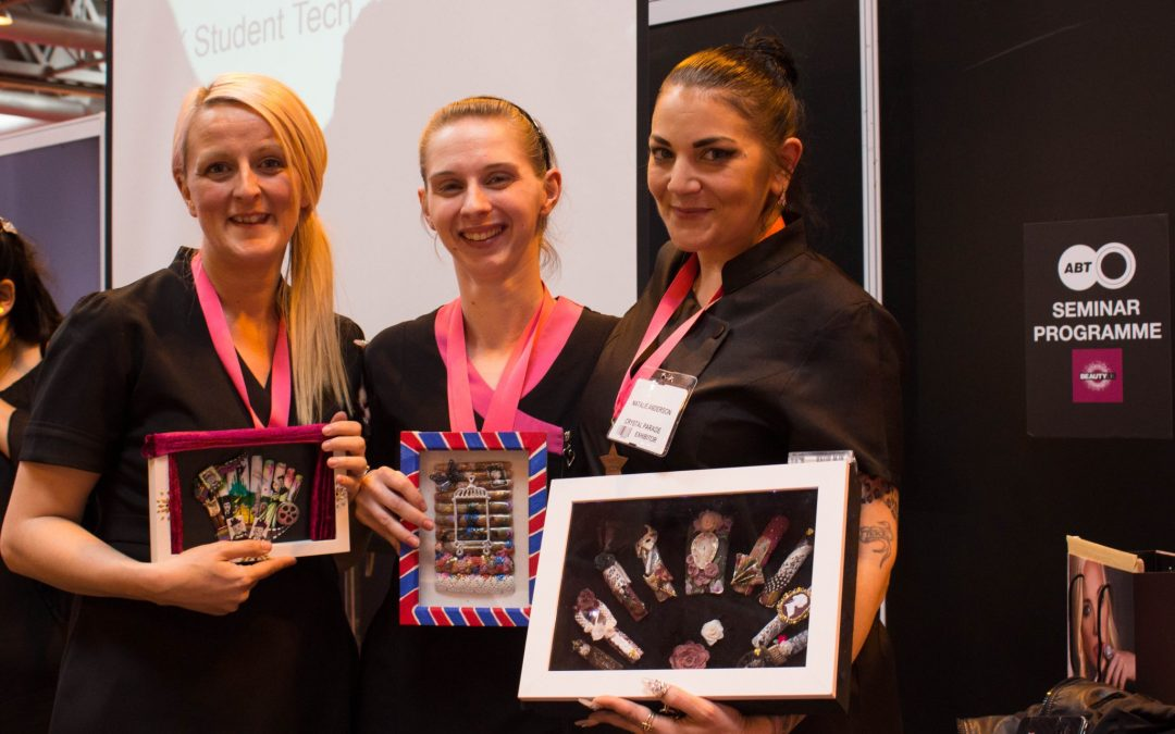 Students Nail It At Major Beauty Event