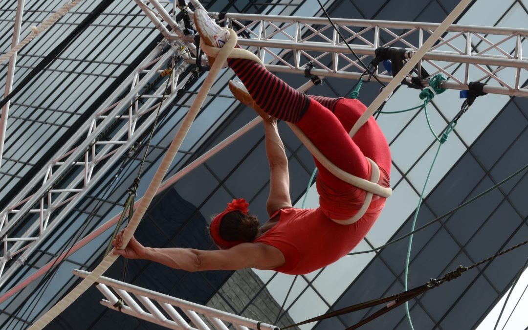 TILT19 AERIAL AND PHYSICAL THEATRE FESTIVAL RETURNS TO THE CITY