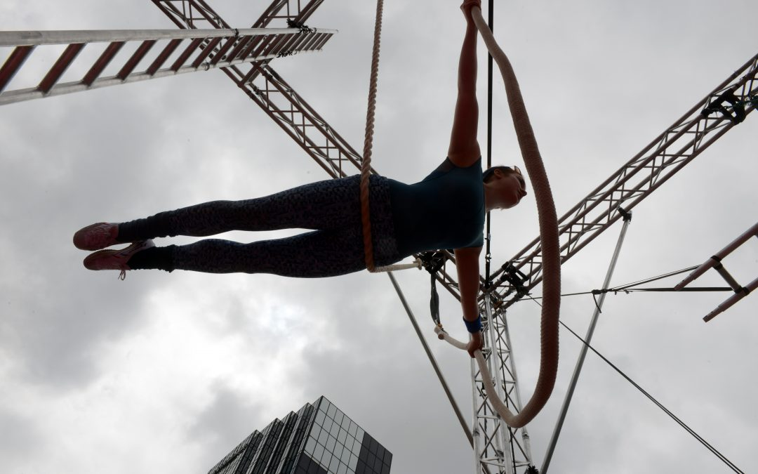 Flying high! Birmingham's only Aerial and Physical Theatre Festival is back! #TILT21